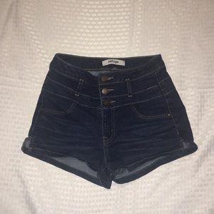 Dark navy blue Arizona shorts  juniors size 0